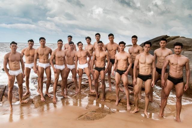 Hình thể ấn tượng của top 3 nam thần Mister Fitness - Mister Việt Nam 2019 - 1
