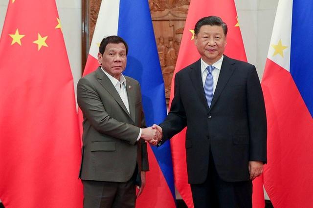 Tổng thống Philippines nêu phán quyết Biển Đông, ông Tập Cận Bình thẳng thừng bác bỏ - 1