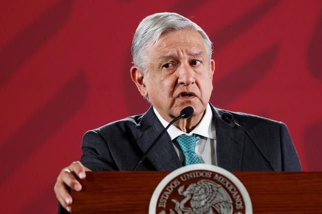 Mexico phát hiện camera quay lén trong dinh tổng thống - 1