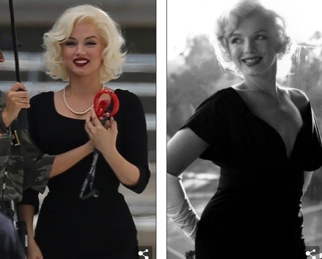 Bond girl Ana De Armas hóa thân thành Marilyn Monroe - 2