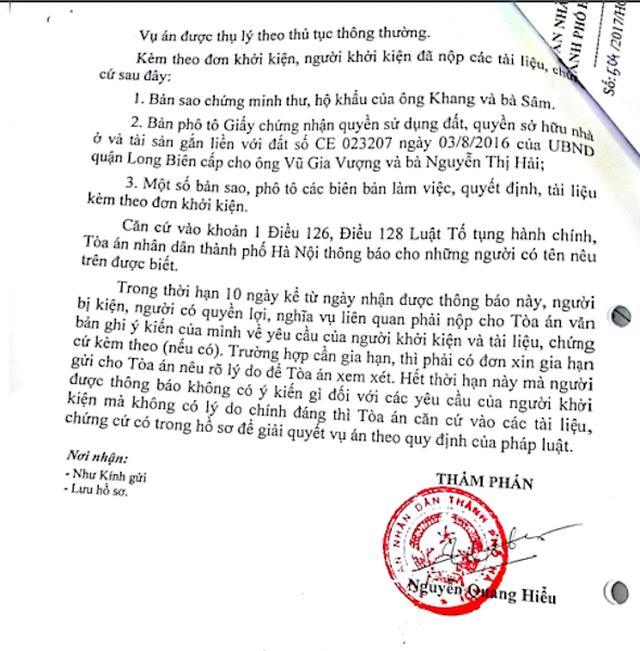 TAND TP Hà Nội thụ lý vụ án gần 2 năm vẫn chưa đưa ra xét xử! - 4