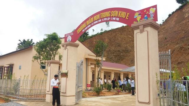 Phú Thọ: Đưa vào hoạt động điểm trường cho trẻ mầm non người H'Mông, Dao - 4