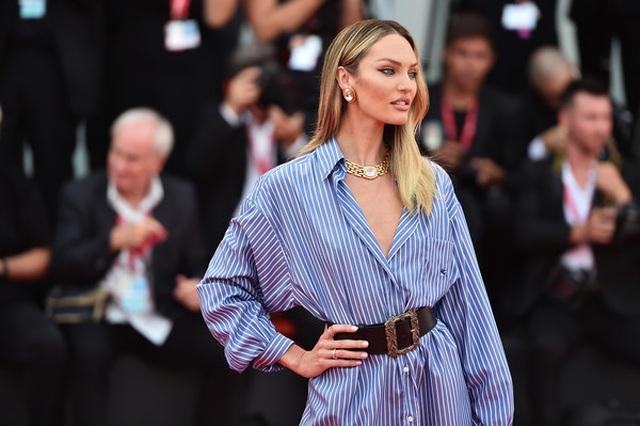 Candice Swanepoel mặc áo quên quần dự LHP Venice - 2