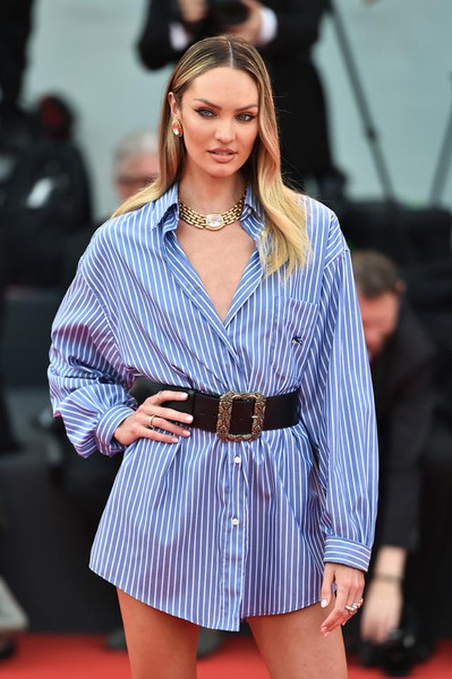 Candice Swanepoel mặc áo quên quần dự LHP Venice - 3