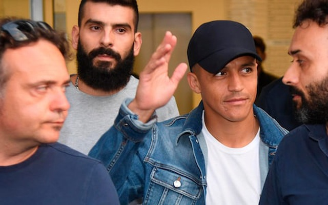 Alexis Sanchez chính thức gia nhập Inter