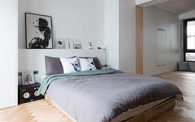 Phá cách với căn hộ làm bằng tường xi măng - 7