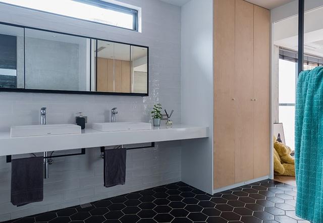 Phá cách với căn hộ làm bằng tường xi măng - 8