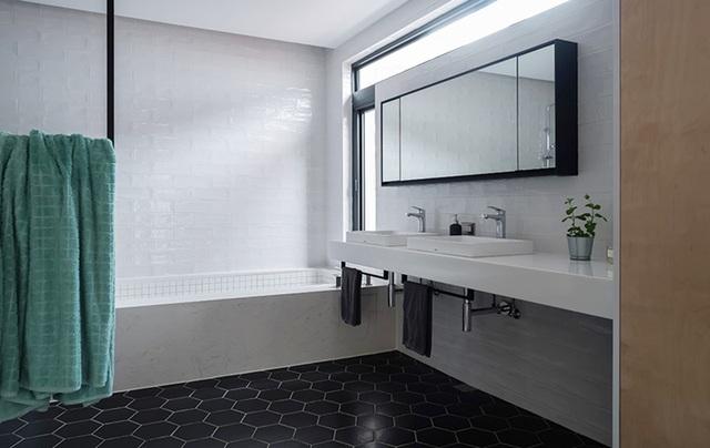 Phá cách với căn hộ làm bằng tường xi măng - 9