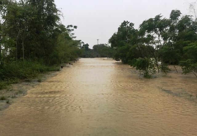 Nước sông lên báo động 2, hàng nghìn hộ dân bị cô lập - 3