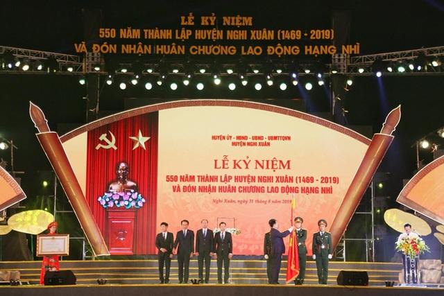 Long trọng Lễ kỷ niệm 550 năm thành lập huyện Nghi Xuân - Ảnh minh hoạ 4