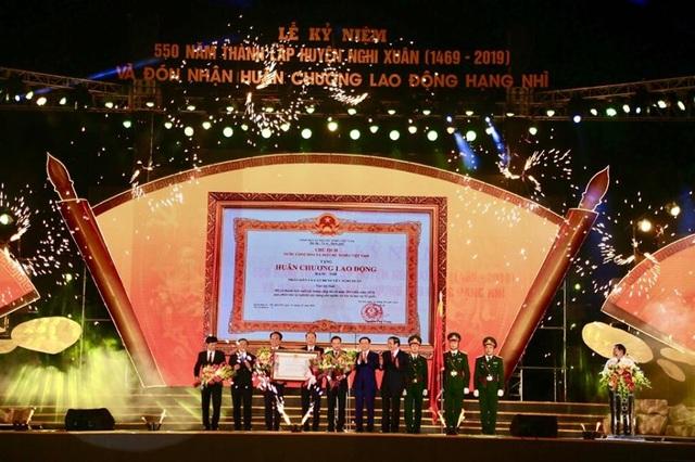Long trọng Lễ kỷ niệm 550 năm thành lập huyện Nghi Xuân - Ảnh minh hoạ 5