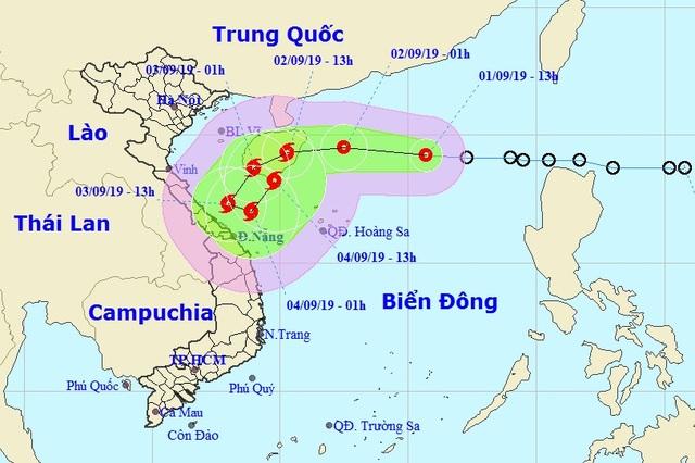 Xuất hiện áp thấp trên Biển Đông có khả năng mạnh thành bão số 5 - 1