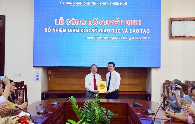 Thừa Thiên Huế có tân Giám đốc Sở Giáo dục và Đào tạo - 1