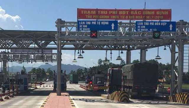 Giảm phí BOT cho xe tải, xe container qua tỉnh Bình Định - 1