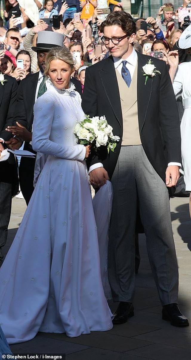 Đám cưới đẹp như mơ của ca sỹ Ellie Goulding - 4