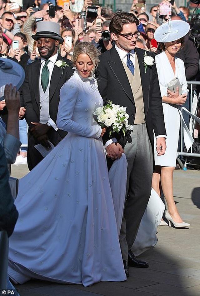 Đám cưới đẹp như mơ của ca sỹ Ellie Goulding - 11