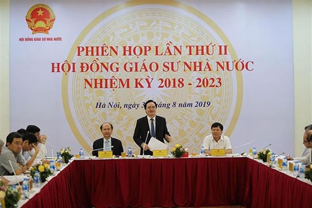 Hội đồng Giáo sư Nhà nước khôi phục chức danh Phó Giáo sư cho ông Hoàng Xuân Quế - 1