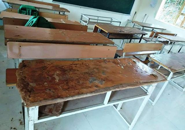 Gần 1.000 học sinh Mường Lát phải ngồi ghép vì thiếu bàn ghế  - 2