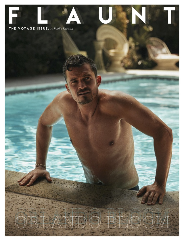Orlando Bloom khoe vẻ đẹp nam tính và hạnh phúc an yên ở tuổi 40