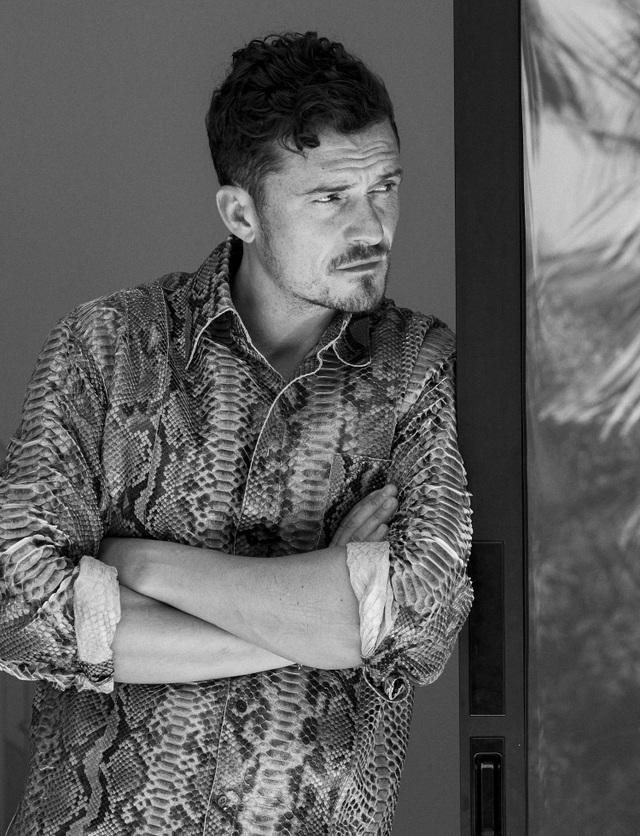 Orlando Bloom khoe vẻ đẹp nam tính và hạnh phúc an yên ở tuổi 40 - Ảnh minh hoạ 5