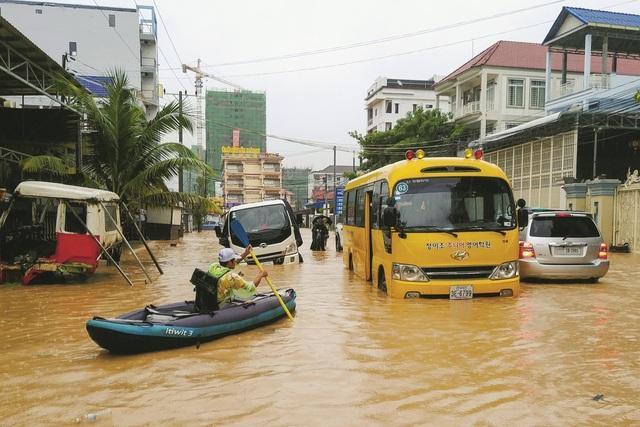 """Thành phố của Campuchia đang """"chết đuối"""" vì tiền của Trung Quốc? - 1"""