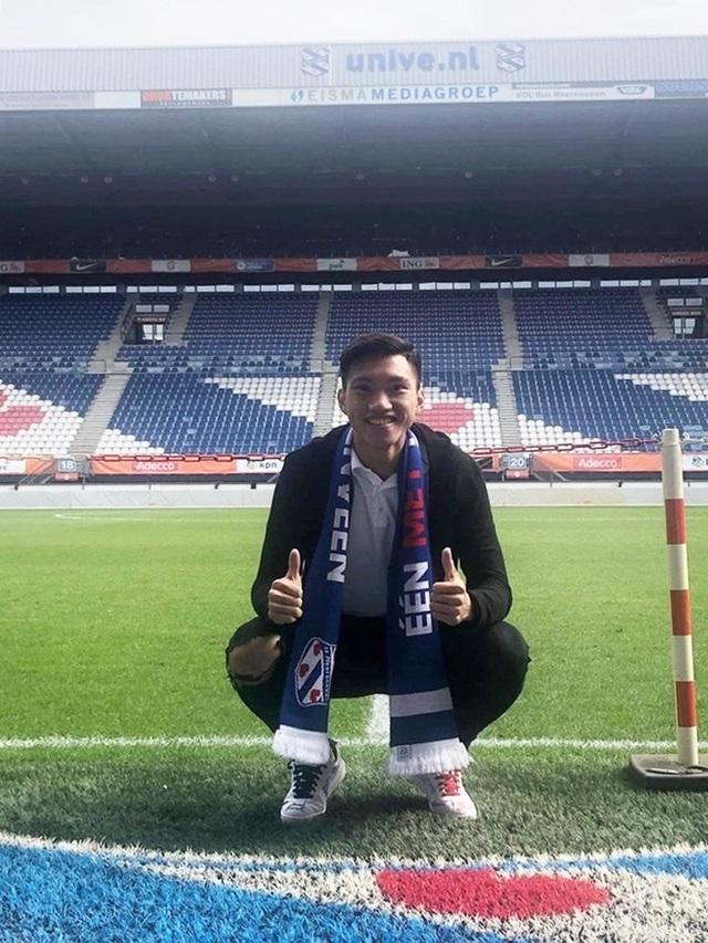 Văn Hậu tươi tắn, chuẩn bị ký hợp đồng với Heerenveen - 2