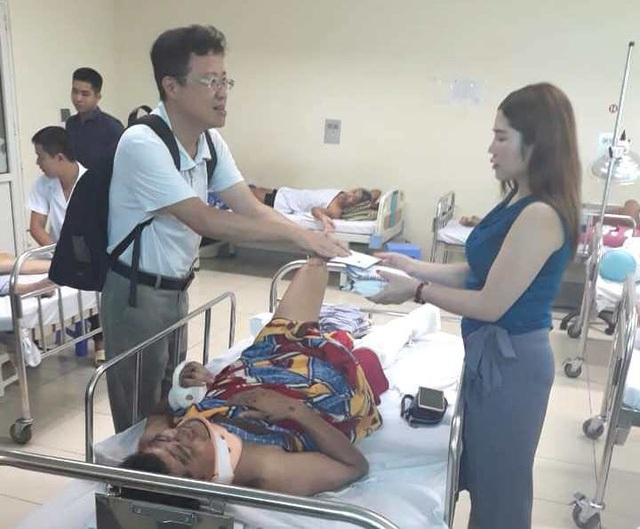 Nạn nhân sống sót trong vụ tai nạn thảm khốc ở Hải Dương hiện ra sao? - 3