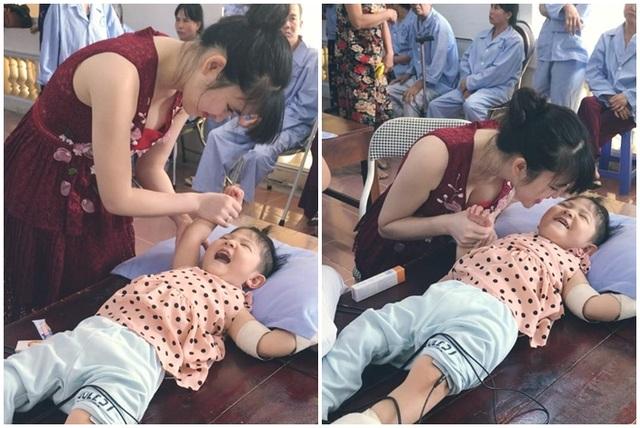 Sự thay đổi bất ngờ của em bé suy dinh dưỡng Lào Cai sau khi được nhận nuôi - 3