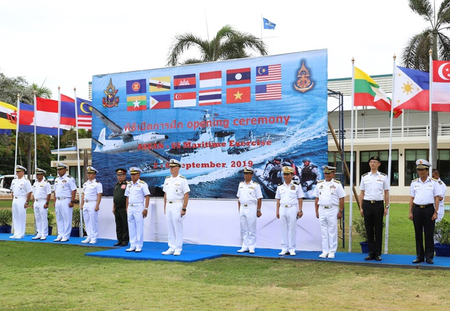Việt Nam điều tàu hộ vệ săn ngầm tham gia tập trận chung ASEAN - Mỹ - 1