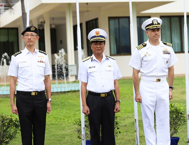 Việt Nam điều tàu hộ vệ săn ngầm tham gia tập trận chung ASEAN - Mỹ - 3