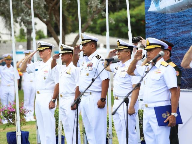 Việt Nam điều tàu hộ vệ săn ngầm tham gia tập trận chung ASEAN - Mỹ - 2
