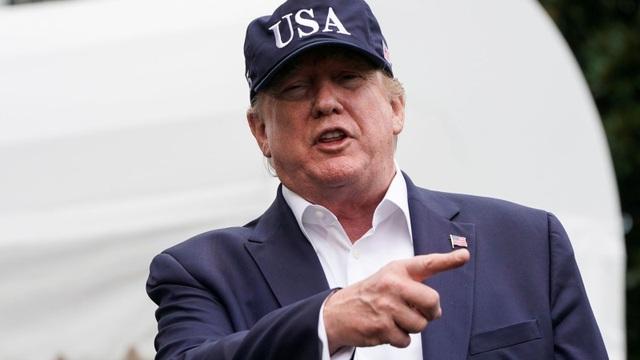 Ông Trump nói Trung Quốc mất tiền trong cuộc chiến thuế quan với Mỹ - 1