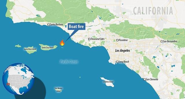 Hỏa hoạn kinh hoàng trên tàu lặn Mỹ: 25 người chết, 9 người vẫn mắc kẹt - 4