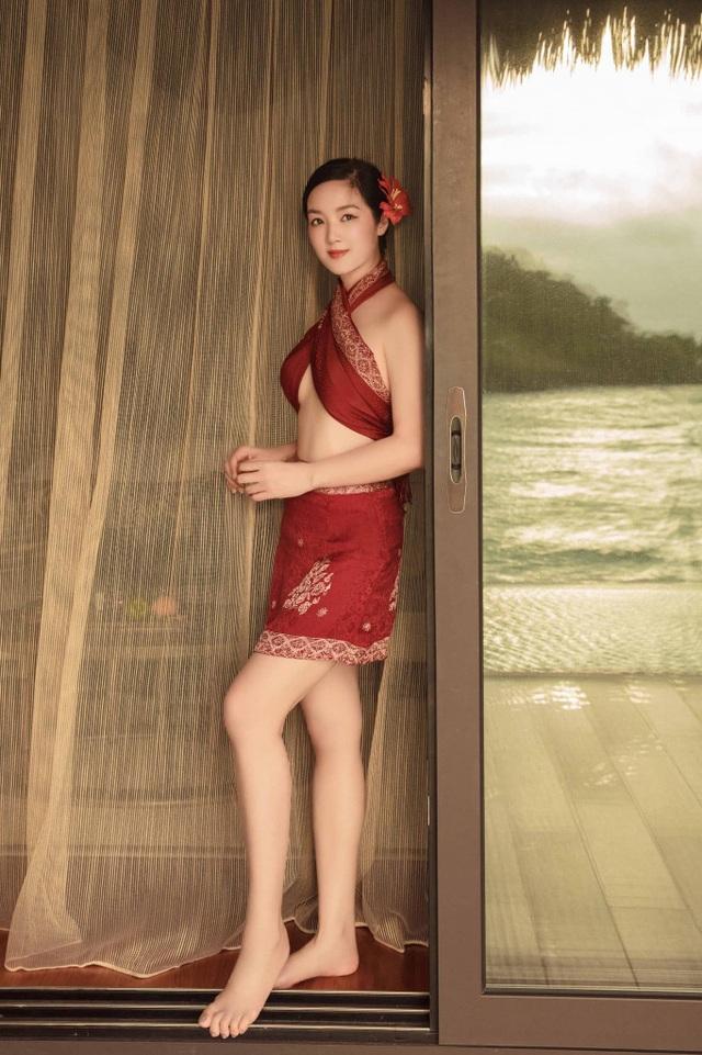 Hoa hậu Giáng My diện bikini khoe vóc dáng gợi cảm ở tuổi U50 - 6