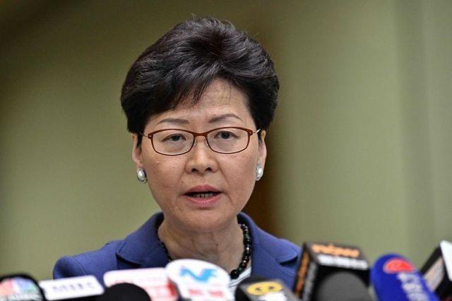 Trưởng đặc khu Hong Kong nói sẽ từ chức nếu có thể - 1