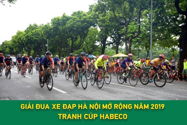 Hà Nội rực rỡ chào đón Giải đua xe đạp Hà Nội mở rộng 2019 tranh cúp Habeco - 1