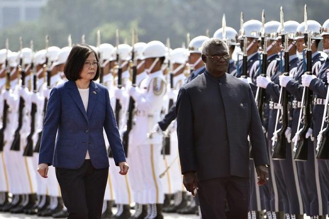 """Quốc đảo Thái Bình Dương """"quay lưng"""" với Đài Loan, căng thẳng Mỹ - Trung tăng nhiệt - 1"""