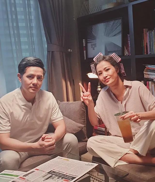 Diễn viên Việt Trinh hạnh phúc bên con trai trong kỳ nghỉ lễ - 9
