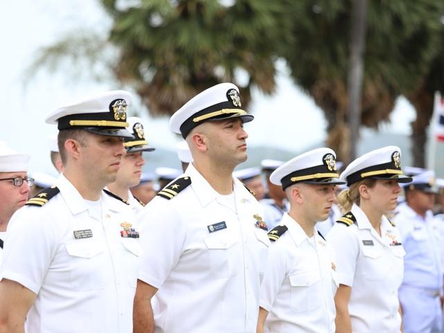 Tàu tuần duyên hiện đại nhất của Hải quân Mỹ diễn tập với ASEAN - 2