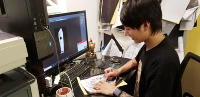 Thợ tattoo, người chia sẻ những thông điệp nghệ thuật - 1
