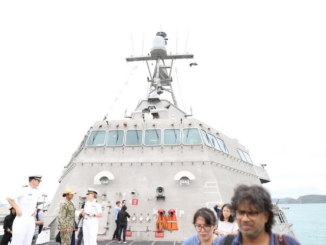 Tàu tuần duyên hiện đại nhất của Hải quân Mỹ diễn tập với ASEAN - 3