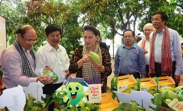 Chủ tịch Quốc hội Nguyễn Thị Kim Ngân đánh giá cao mô hình Hội quán ở Đồng Tháp - 3