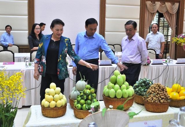 Chủ tịch Quốc hội Nguyễn Thị Kim Ngân đánh giá cao mô hình Hội quán ở Đồng Tháp - 4