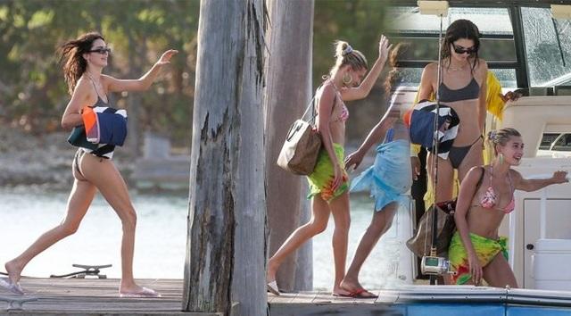 Kendall Jenner khoe chân siêu dài - 8