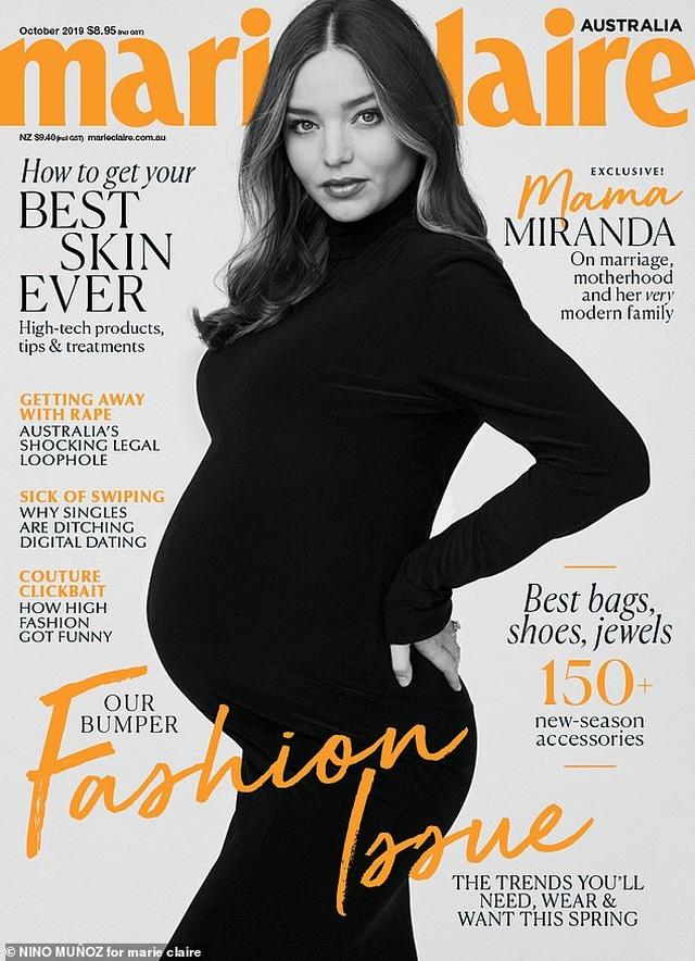 Người mẫu Miranda Kerr khoe vẻ đẹp khi mang bầu lần 3 - 3