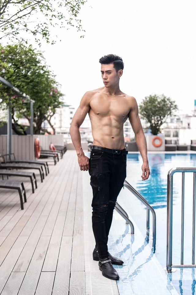 Gã bụng phệ giảm 25kg thành nam thần 6 múi lọt chung kết Mister Việt Nam 2019 - 7