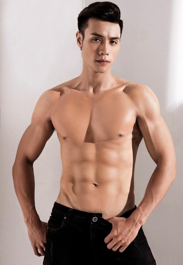 Gã bụng phệ giảm 25kg thành nam thần 6 múi lọt chung kết Mister Việt Nam 2019 - 3