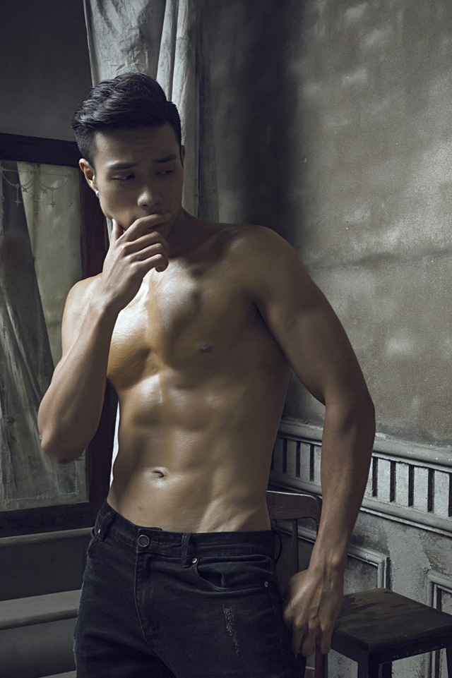 Gã bụng phệ giảm 25kg thành nam thần 6 múi lọt chung kết Mister Việt Nam 2019 - 8