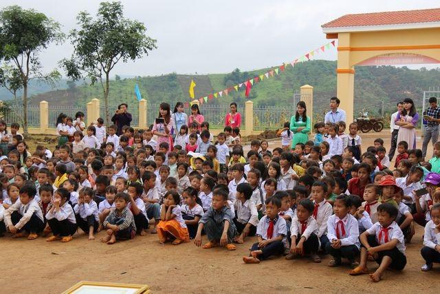 Đắk Nông: Không để học sinh đứng dầm mưa khai giảng - 1