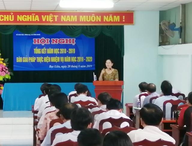 Phó Chủ tịch TP Bạc Liêu: Tại sao lại giảm biên chế giáo dục trong khi giáo viên đang thiếu? - 1